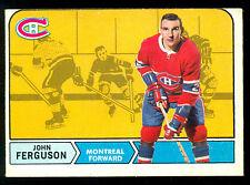 1968 69 OPC O PEE CHEE HOCKEY #20 JOHN FERGUSON EX-NM MONTREAL CANADIENS CARD