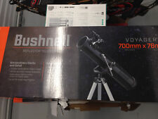 Bushnell Voyager Reflector Telescope 700mm x 76mm NIB Factory Sealed 78870076W