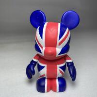 "Disney Vinylmation Mickey Mouse Flags Series Union Jack Britain 3"" Figure VGC"