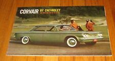 Original 1960 Chevrolet Corvair Sales Brochure 700 Sedan