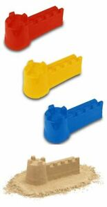 Sand Castle Beach Sandpit Mould Summer Fortress Wall Fun Family Toy Kid Outdoor