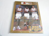#MISC-2741 vintage 1996 NBA FINALS program CHICAGO BULLS - MICHAEL JORDAN