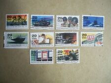 Usa Used, 1993 Issue, 1943 World War Ii (Set of 10) Scott #2765a-j
