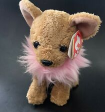 Ty Beanie Baby - Divalectable the Chihuahua Dog - New with Tags Babies Plush