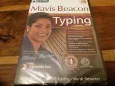 Mavis Beacon Teaches Typing Version 16 Deluxe Edition 2 Disc UK PC CD Rom New