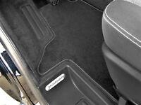 Fußmatte VW T5 Multivan Premium Velours  Anthrazit SLB 4x VW-Drehversch.