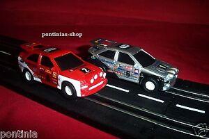 Racy Dickie Artin Fastlane 2 Tourenwagen Rally für Autorennbahn 1:43*NEU