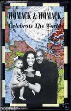 WOMACK & WOMACK - CELEBRATE THE WORLD / FRIENDS (SO CALLED) 1989 UK CASSINGLE