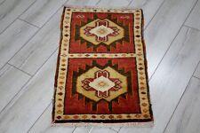 Turkish DoorMat,Small Rug,Vintage Rug,Oushak Rug,Antique Rug,Kitchen Rug, OldRug