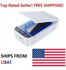 UV Ultraviolet Cell Phone Sterilizer Sanitizer Disinfection Box Case Cleaner UVC