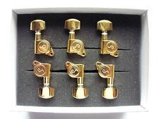 Schaller M6 135 Tuners Mechaniken 6 links Gold