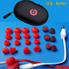 22 Replacement RED Ear Bud/Gels for Monster Beats Powerbeats 2 / 3 +CASE,USB