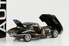 1961 Jaguar E-Type 3.8 Roadster Series 1 schwarz diecast 1:18 Autoart 73605