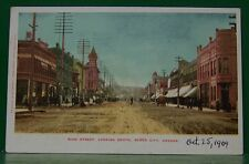 VINTAGE OLD 1904 LITHO BAKER CITY OREGON MAIN STREET LOOKING SOUTH  PC POSTCARD