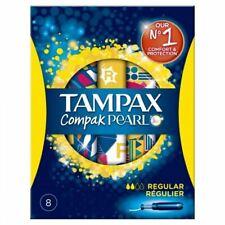 Tampax Compak Pearl Regular 8 New