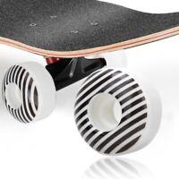 4Pcs 95A Durable Skateboard Wheels Longboard Cruiser Rocker Wheels 52x30mm PU