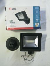 Lithonia Lighting outdoor Wall Mount Flood Light Olmf Bronze Integrated Led