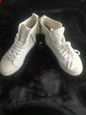 G Star raw White Trainers Boots Shoes Size 37 New With Tags Converse Style Mens