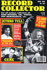 JETHRO TULL / FREDDIE MERCURY / GENE / ZAPPARecord Collectorno.199Mar1996