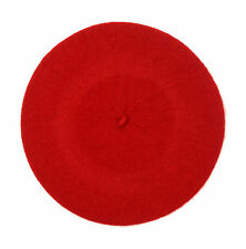 2208e2a2cf5a3 Ladies High Quality 100 Wool French Beret Red