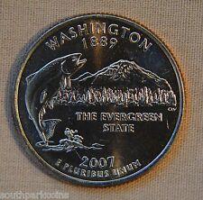 2007-D Uncirculated Washington Statehood Quarter - Single