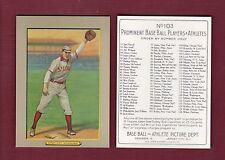 "1910 Turkey Red T3: #103 ED KONETCHY, Cardinals REPRINT 2-1/2"" X 3-1/2"" size"