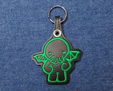 Cute Cthulhu Key Chain - Kawaii Chibi Cthulhu Key Chain - Baby Cthulhu Keychain