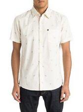Quiksilver Men's Skull Cave SS Button-up Short Sleeve Shirt EQYWT03317
