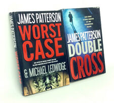 James Patterson Bundle x2 Hardback Books Worst Case Double Cross Little Brown