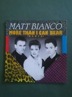 Pochette seule 45T vintage TTBE - Matt bianco - More than i can bear