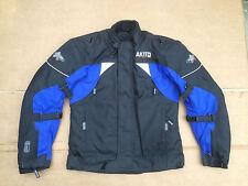"AKITO Mens Textile Motorbike Motorcycle Jacket UK 34"" to 36"" Chest   H126"