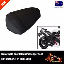 Motorbike Black Rear Pillion Passenger Seat Fit Yamaha YZFR1 YZF R1 09-14
