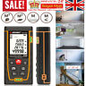 Handheld Digital Laser Point Distance Meter Measure Tape Range Finder Ruler 50M~