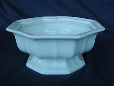 c1842-1864 White Ironstone Compote Base Octagon Gothic T & R Boote Staffordshire