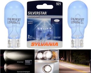 Sylvania Silverstar 921 17.9W Two Bulbs Interior Cargo Trunk Light Replace OE