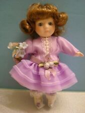 """""""Mother's Day"""" 1994 Marie Osmond Doll, 5 & 1/2"""" Lavender Dress"""