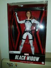 Marvel Black Widow Barbie ,Platinum Label