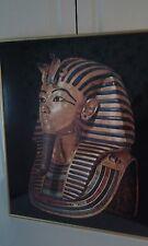 King Tut Framed Poster of Burial Mask