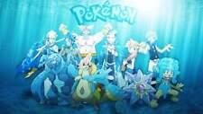 Pokemon Card Bundles 100 Water Types - RARE / REV HOLO GUARANTEED NEW JOBLOT