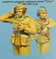 1/35 Resin German Tankers in Communication Unassembled Unpainted BL864