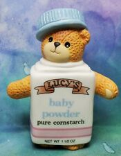 Enesco Lucy and Me Lucy Rigg bear as baby powder