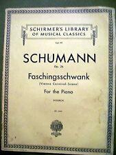 Schumann Op. 26 Faschingsschwank for the Piano Vol 99 (Paperback)