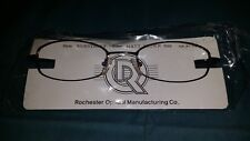 ROCHESTER OPTICAL SIDESTREET BROWN SPECTACLE EYEGLASS FRAME 54-21-140 OPTOMETRY