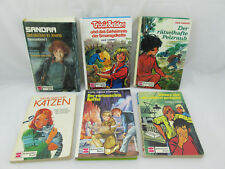 Vintage Lot of 6 - GERMAN CHILDRENS BOOKS Tweens 1970s 1980s HC & Paperbacks