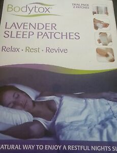 Patch it. Lavender Sleep foot patches. Aromatherapy & Chinese Herbs