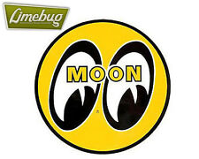 "Mooneyes Yellow Moon Fridge Magnet 2.7"" VW Hotrod Beetle Dash Camper T1 T2 Golf"