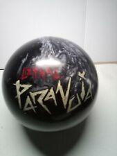 Motiv Lethal Paranoia Bowling ball 15 lb 4 holes