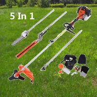 52cc Heavy Duty 5in1 Multifunction Petrol Trimmer Grass Trimmer Cutter 2 stroke
