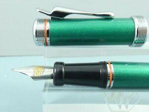 "c1990 Vintage Harley Davidson Jade Green Fountain Pen, CT, ""RARE COLOR"" ""MINT"""