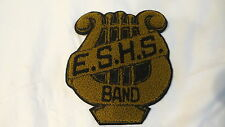 "Vintage Wool High School Letter for Sweater Jacket Band, Letter ""E"" Gold"